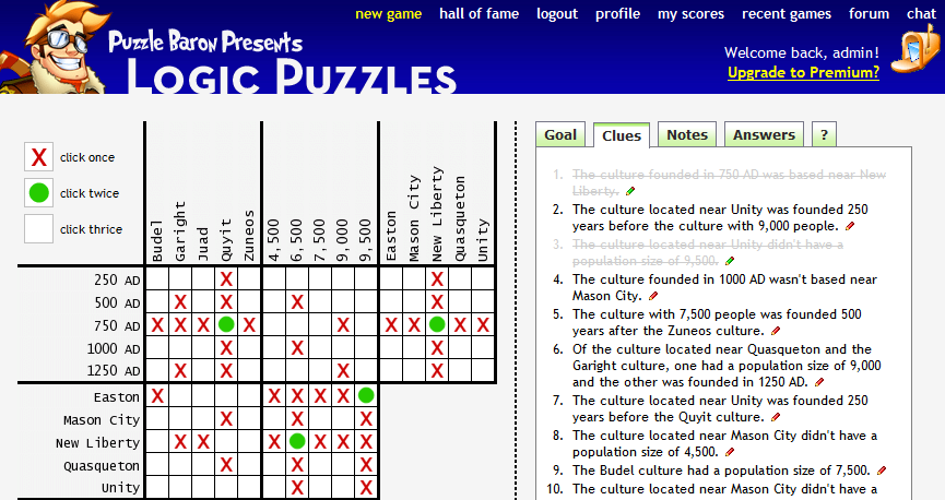 Logic Puzzles Portfolio Categories – Logic Puzzles Worksheets