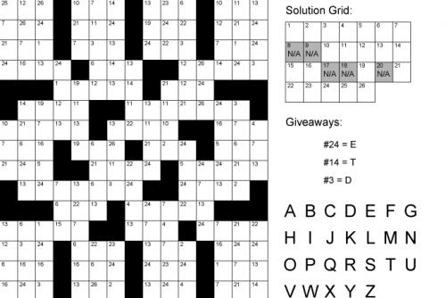 Printable Clueless Crosswords | Puzzle Baron