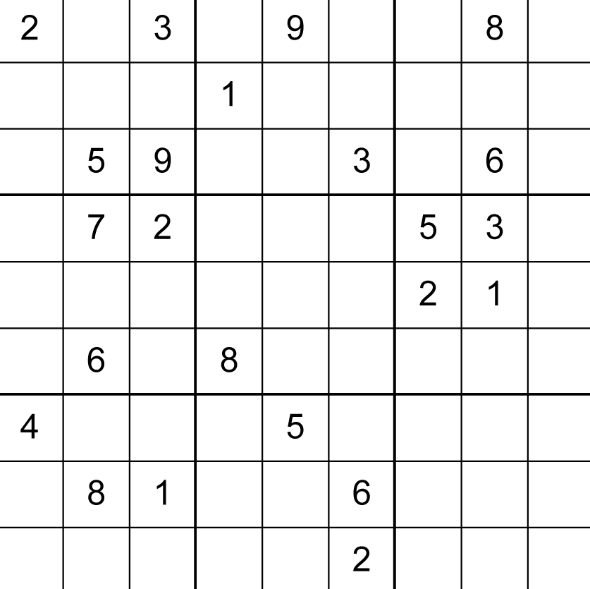 Image Result For Printable Sudoku