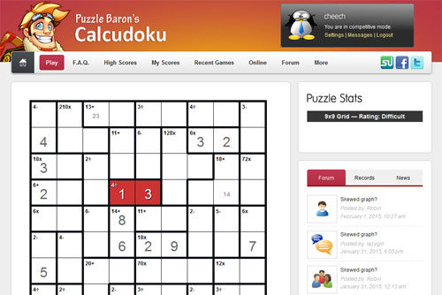 calcudoku-screenshot